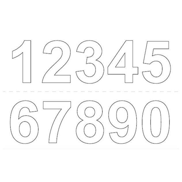 självhäftande siffror habo 50 mm fasadsiffror   husnummer fasaddekor ca3b937df6036